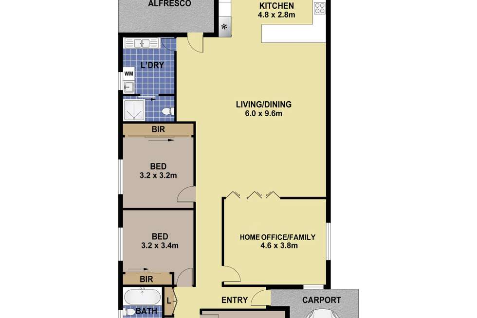 Floorplan of Homely house listing, 93 Excelsior Street, Merrylands NSW 2160