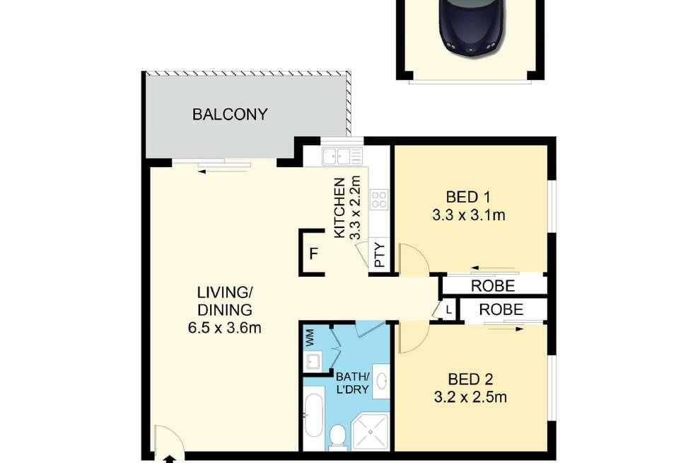 Floorplan of Homely unit listing, 38/34-36 Hythe Street, Mount Druitt NSW 2770