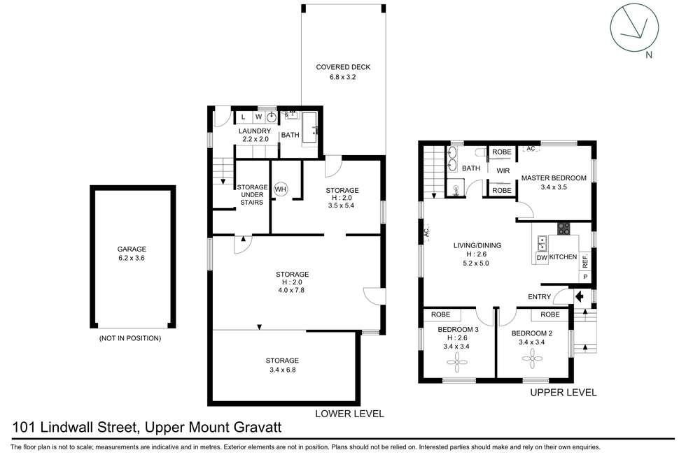 Floorplan of Homely house listing, 101 Lindwall Street, Upper Mount Gravatt QLD 4122