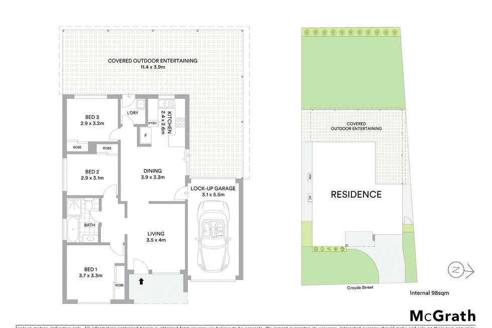 Floorplan of Homely house listing, 3 Croyde Street, Stanhope Gardens NSW 2768