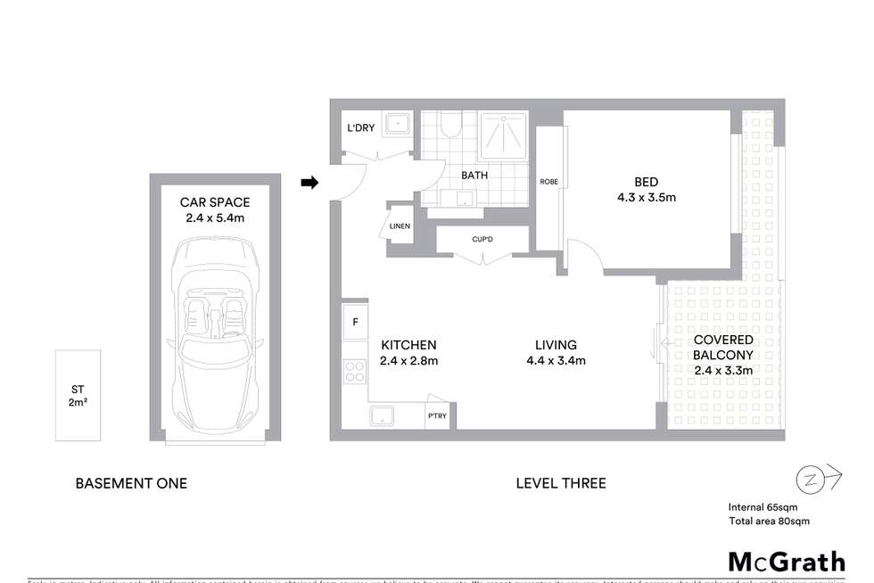 Floorplan of Homely apartment listing, 74/2 Lodge Street, Hornsby NSW 2077