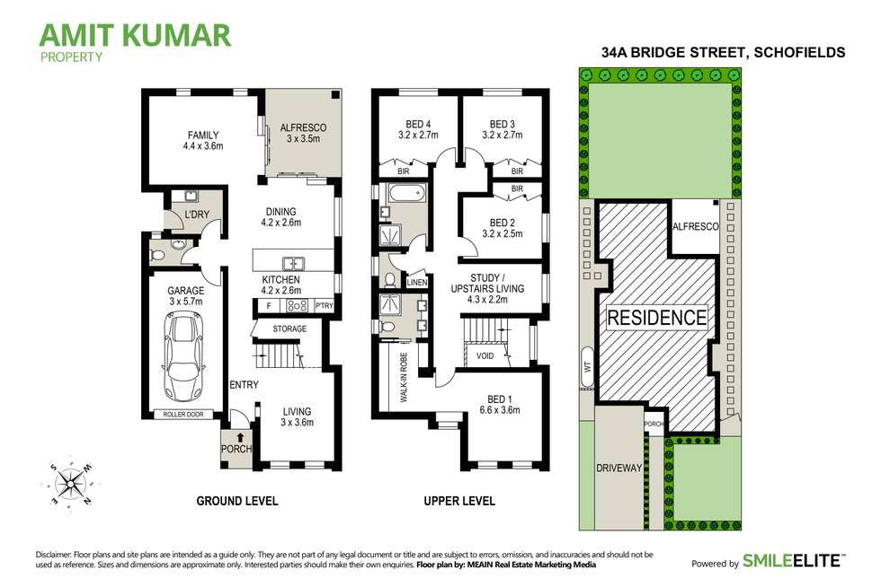 Floorplan of Homely house listing, 34a Bridge Street, Schofields NSW 2762