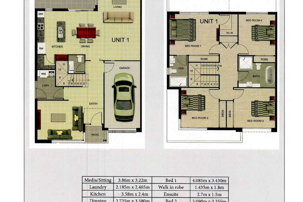 Floorplan of Homely house listing, 88b Kensington Park Road, Schofields NSW 2762