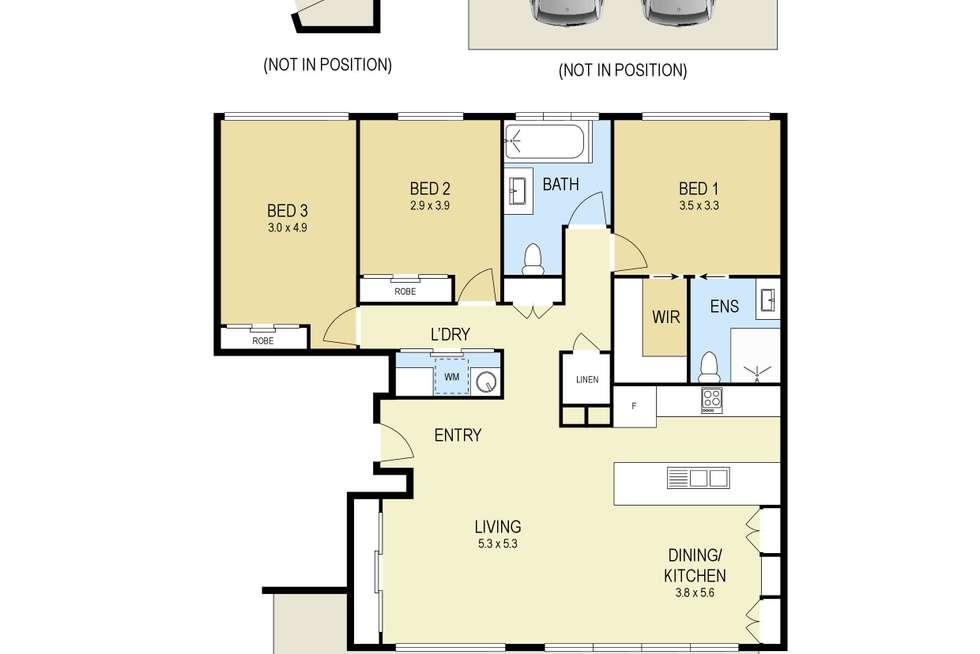 Floorplan of Homely apartment listing, 402/54 Maitland Road, Islington NSW 2296