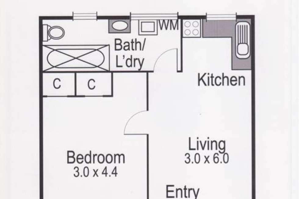 Floorplan of Homely apartment listing, 13/6 Carmichael Street, West Footscray VIC 3012