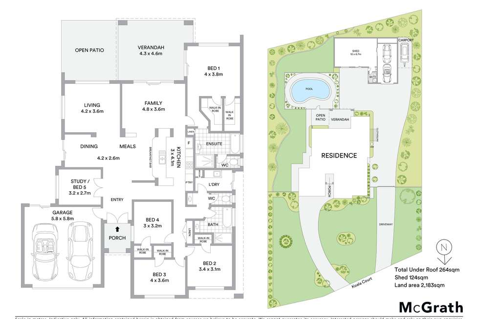 Floorplan of Homely house listing, 61 Koala Court, Little Mountain QLD 4551
