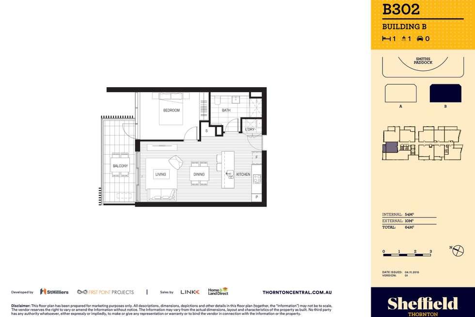 Floorplan of Homely apartment listing, 302/10 Aviators Way, Penrith NSW 2750