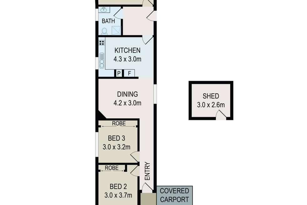 Floorplan of Homely house listing, 17 Hampstead Road, Auburn NSW 2144
