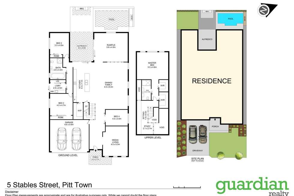 Floorplan of Homely house listing, 5 Stables Street, Pitt Town NSW 2756