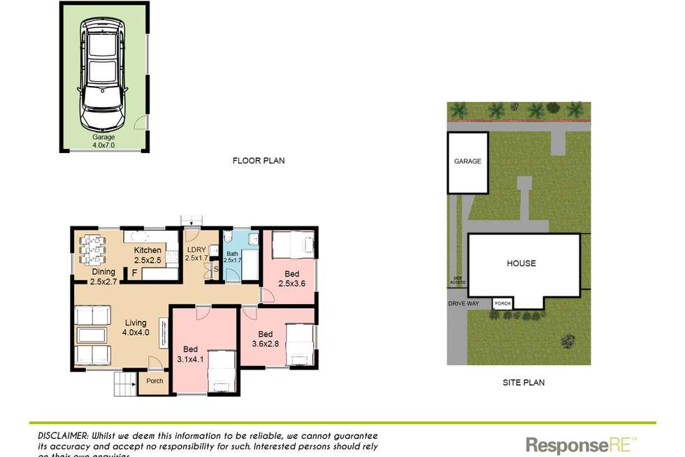 Floorplan of Homely house listing, 17 Robshaw Road, Marayong NSW 2148