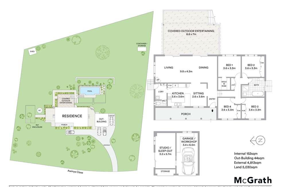Floorplan of Homely acreageSemiRural listing, 13 Awinya Close, Empire Bay NSW 2257