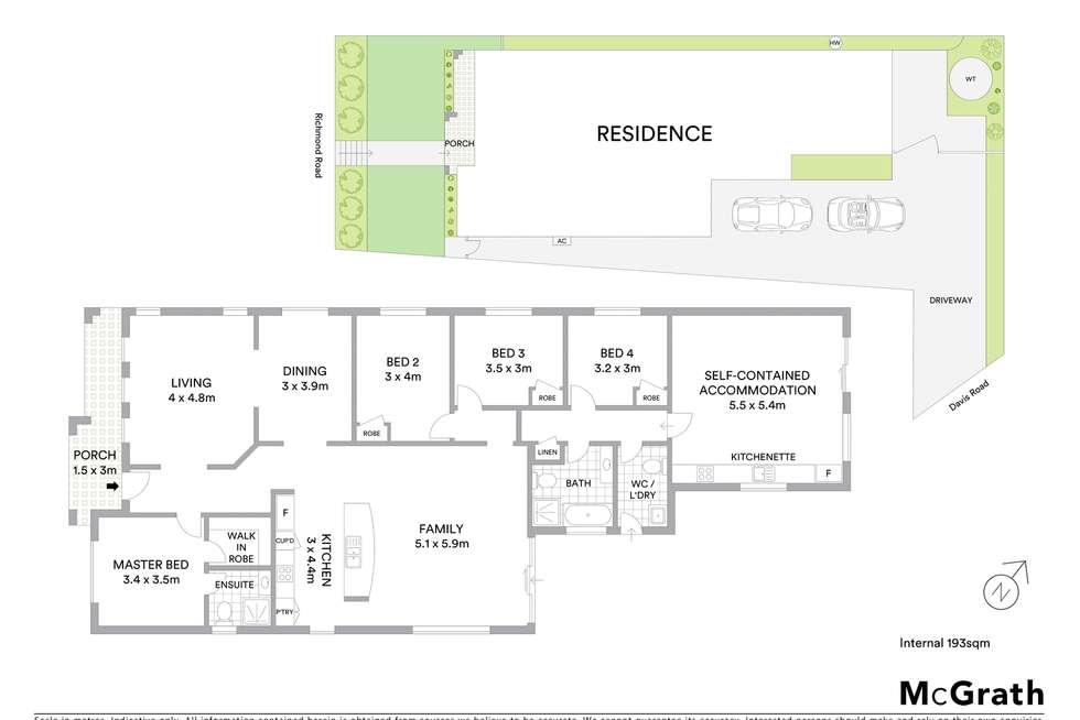 Floorplan of Homely house listing, 2B Davis Road, Marayong NSW 2148