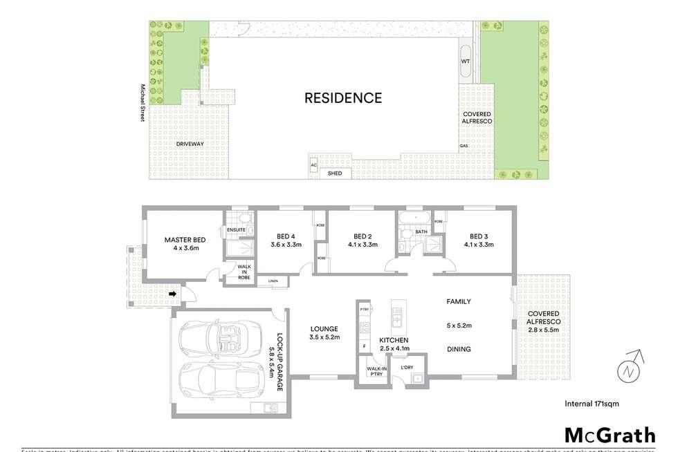 Floorplan of Homely house listing, 6 Michael Street, Schofields NSW 2762