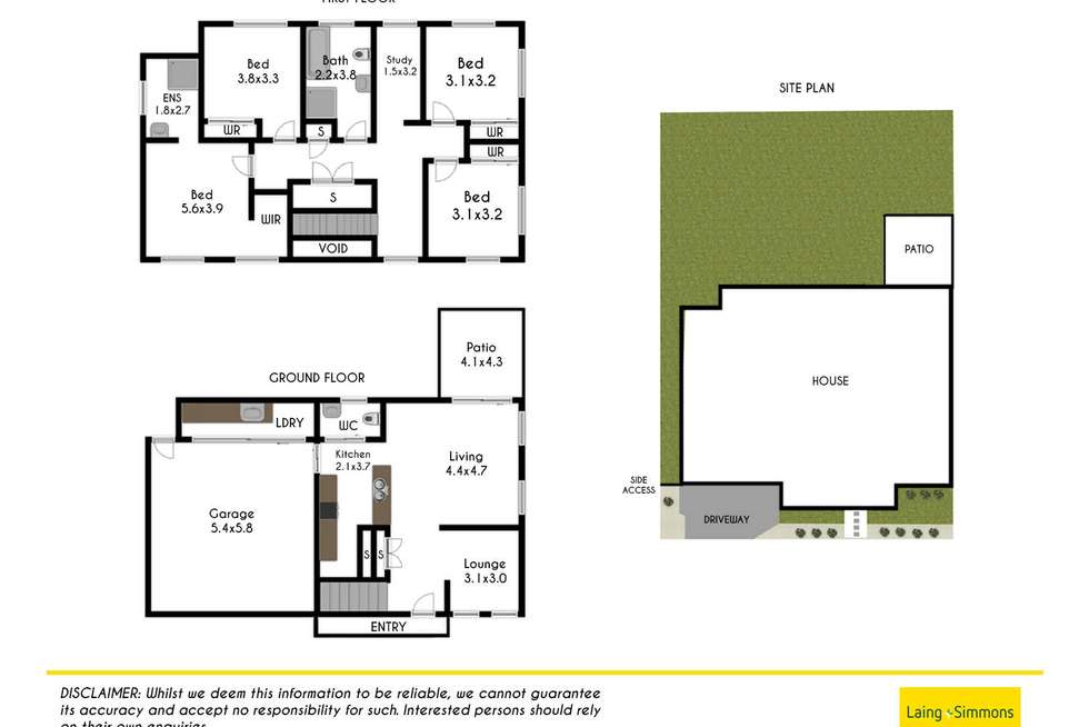 Floorplan of Homely house listing, 73 Fanflower Avenue, Leppington NSW 2179
