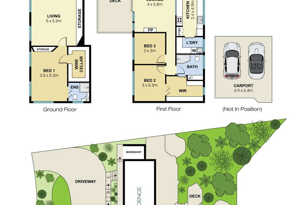 Floorplan of Homely house listing, 27 Palmgrove Road, Avalon Beach NSW 2107
