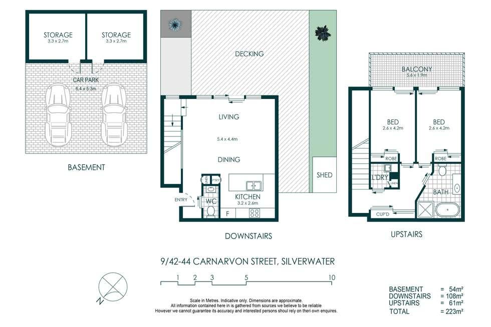 Floorplan of Homely townhouse listing, 9/42-44 Carnarvon Street, Silverwater NSW 2128