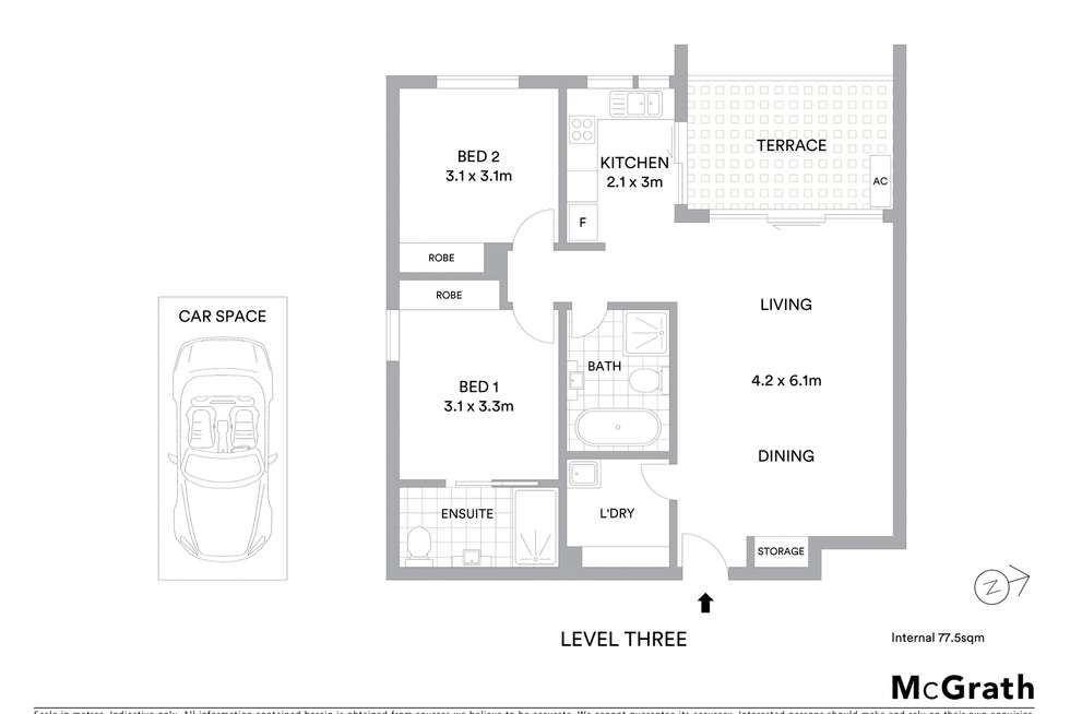 Floorplan of Homely unit listing, 33/22 Boundary Road, Schofields NSW 2762