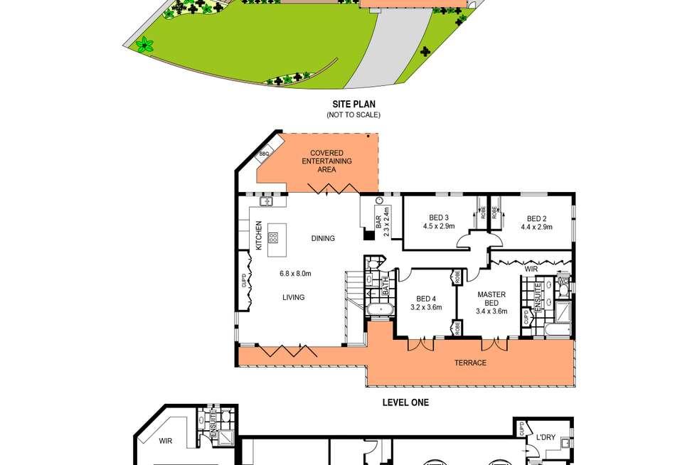 Floorplan of Homely house listing, 6 Wren Place, Burraneer NSW 2230