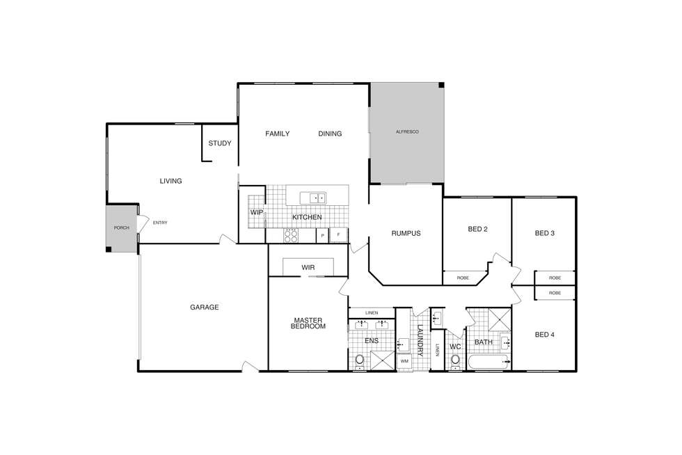 Floorplan of Homely house listing, 29 Hibberd Crescent, Forde ACT 2914