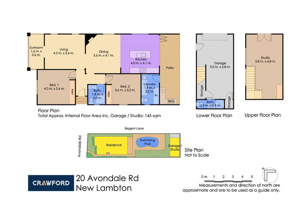 Floorplan of Homely house listing, 20 Avondale Road, New Lambton NSW 2305