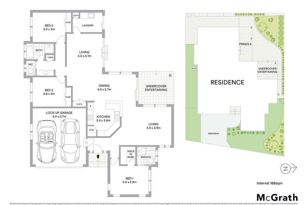 Floorplan of Homely house listing, 4A Eleventh Avenue, Sawtell NSW 2452