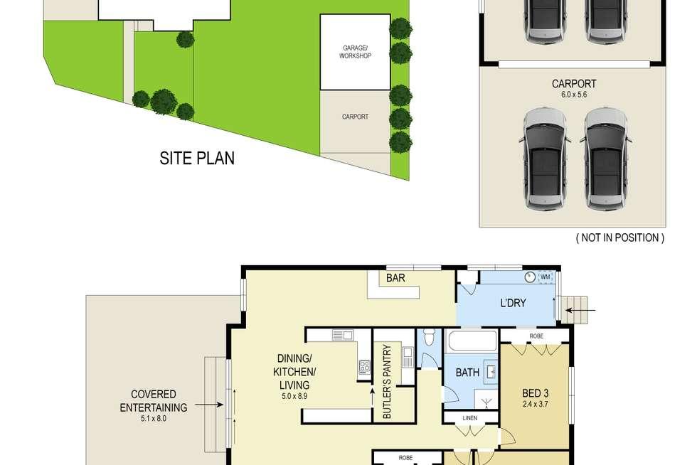 Floorplan of Homely house listing, 1 Argyll Crescent, Edgeworth NSW 2285