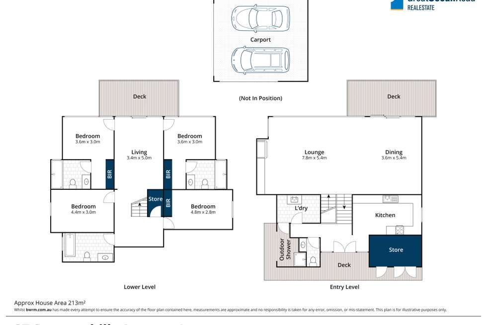 Floorplan of Homely house listing, 27 Summerhills Avenue, Lorne VIC 3232