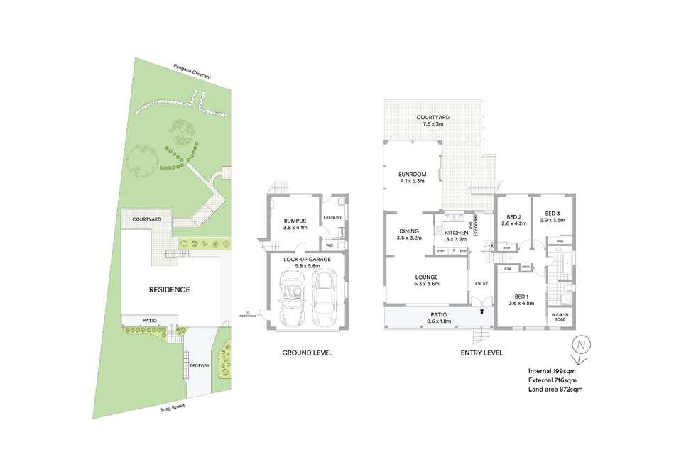 Floorplan of Homely house listing, 20 Boag Street, Mollymook NSW 2539