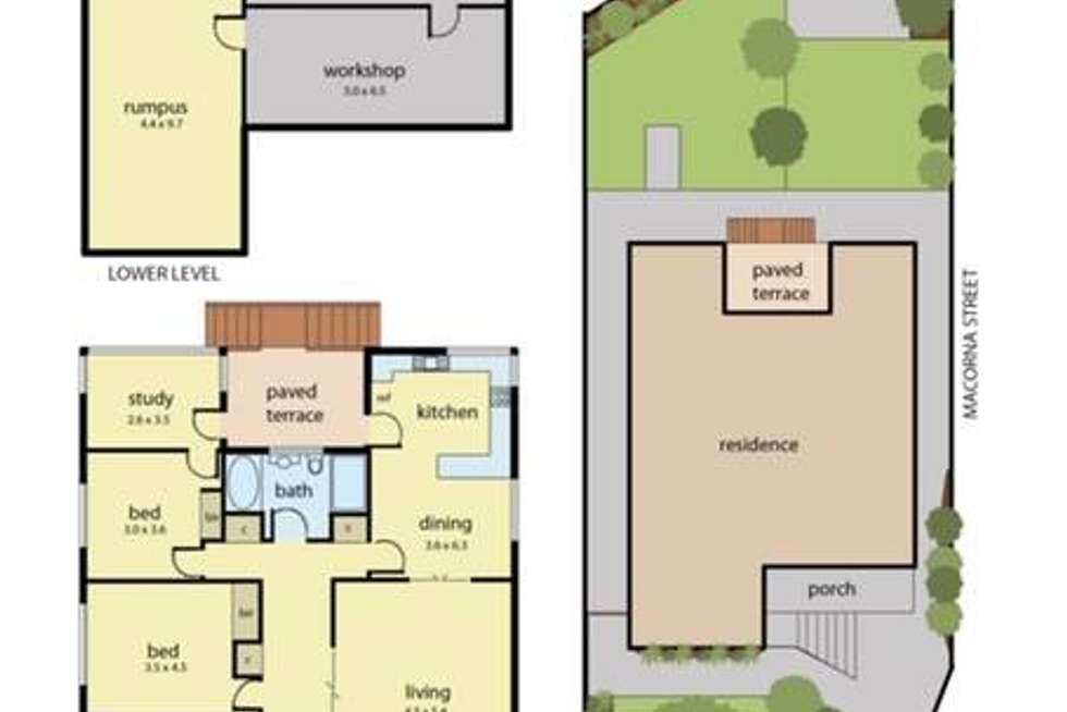 Floorplan of Homely house listing, 60 Frankston-Flinders Road, Frankston VIC 3199