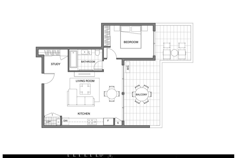 Floorplan of Homely apartment listing, 30/431 Pacific Highway, Asquith NSW 2077