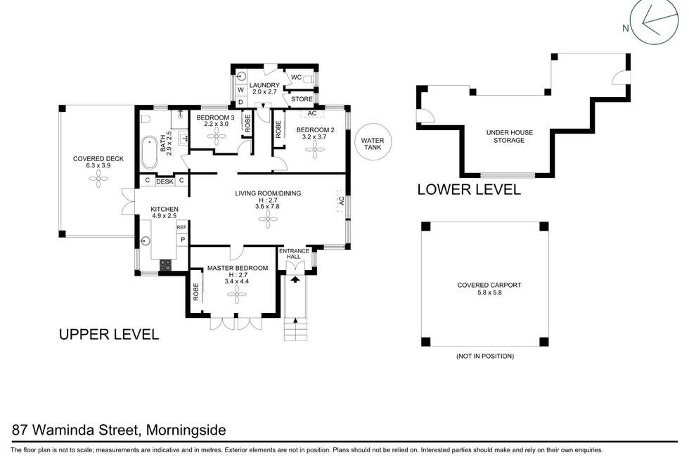 Floorplan of Homely house listing, 87 Waminda Street, Morningside QLD 4170