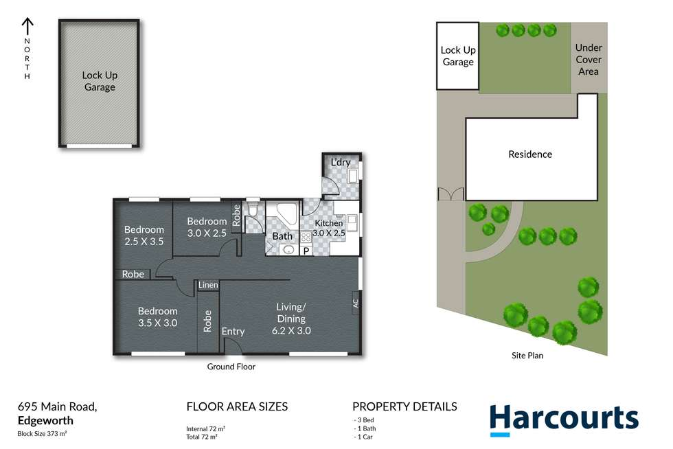 Floorplan of Homely house listing, 695 Main Road, Edgeworth NSW 2285