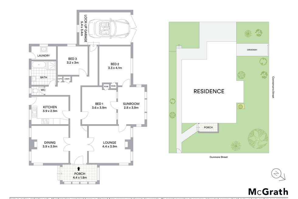 Floorplan of Homely house listing, 58 Dunmore Street South, Bexley NSW 2207