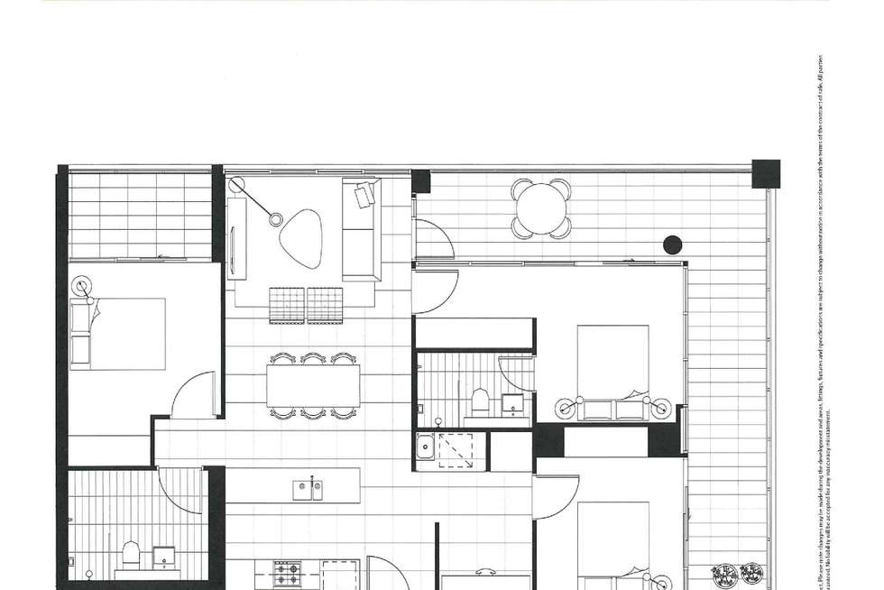Floorplan of Homely apartment listing, 506/2H Morton Street, Parramatta NSW 2150