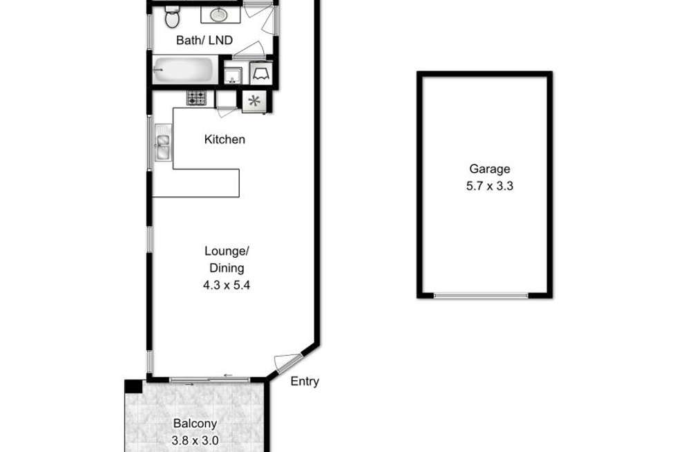 Floorplan of Homely apartment listing, 8/17 Donkin Street, Nundah QLD 4012