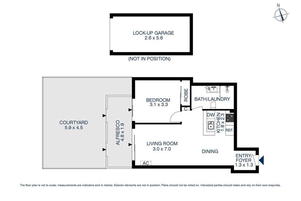 Floorplan of Homely apartment listing, 73/68 MacArthur Street, Parramatta NSW 2150