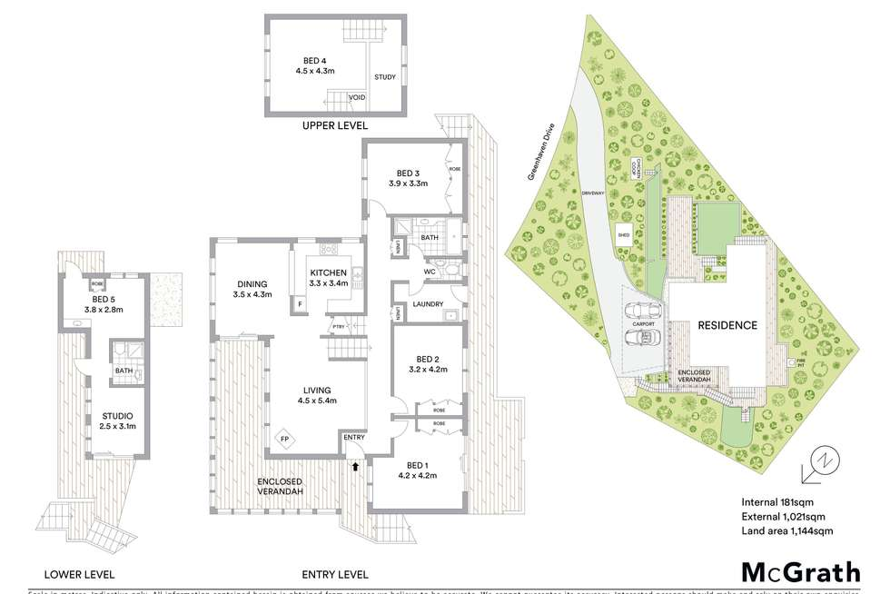 Floorplan of Homely house listing, 15 Greenhaven Drive, Umina Beach NSW 2257