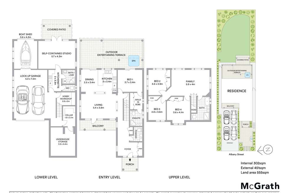 Floorplan of Homely house listing, 85 Albany Street, Point Frederick NSW 2250