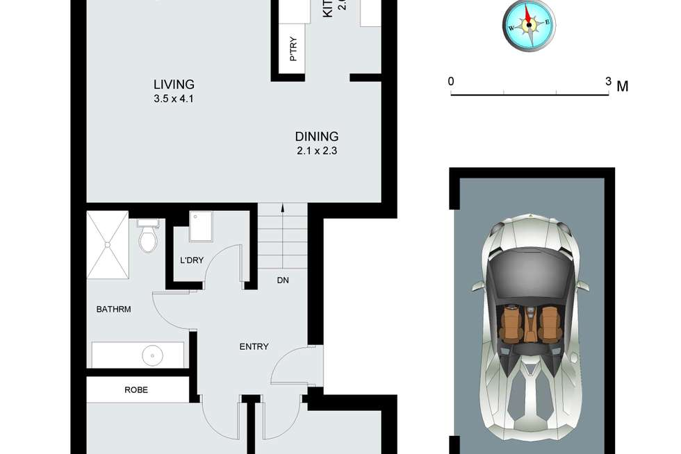 Floorplan of Homely apartment listing, 23/36-40 Gordon Street, Manly Vale NSW 2093