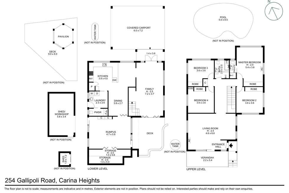 Floorplan of Homely house listing, 254 Gallipoli Road, Carina Heights QLD 4152