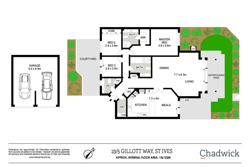 Floorplan of Homely apartment listing, 23/5 Gillott Way, St Ives NSW 2075