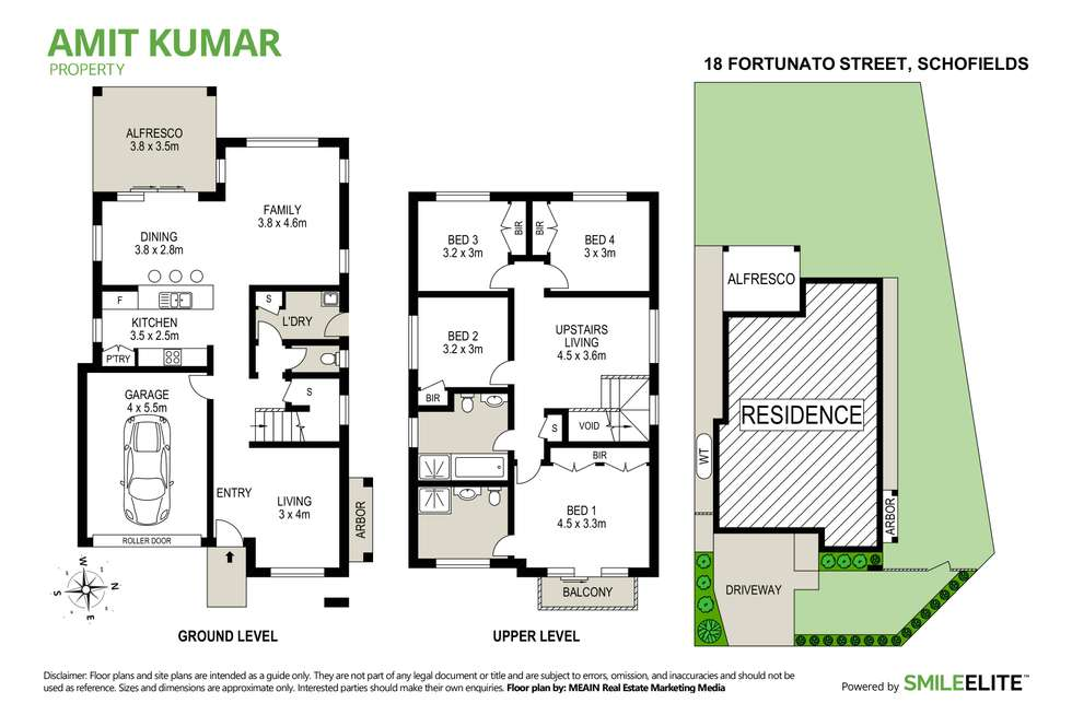Floorplan of Homely house listing, 18 Fortunato Street, Schofields NSW 2762