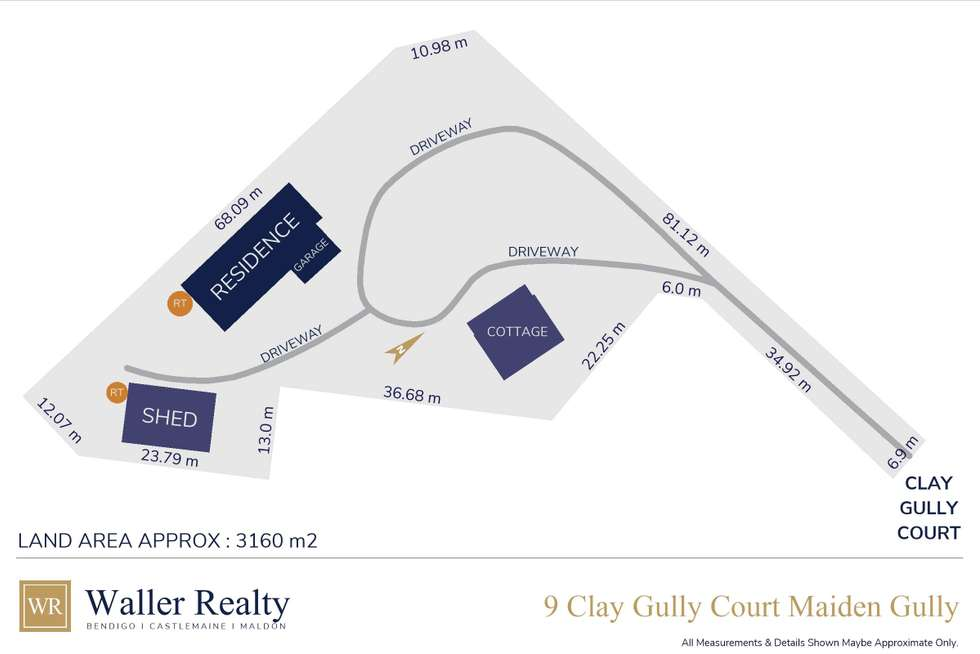 Floorplan of Homely house listing, 9 Clay Gully Court, Maiden Gully VIC 3551