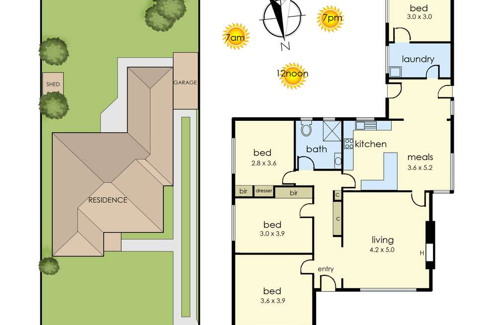 Floorplan of Homely house listing, 30 Kelso Street, Frankston VIC 3199