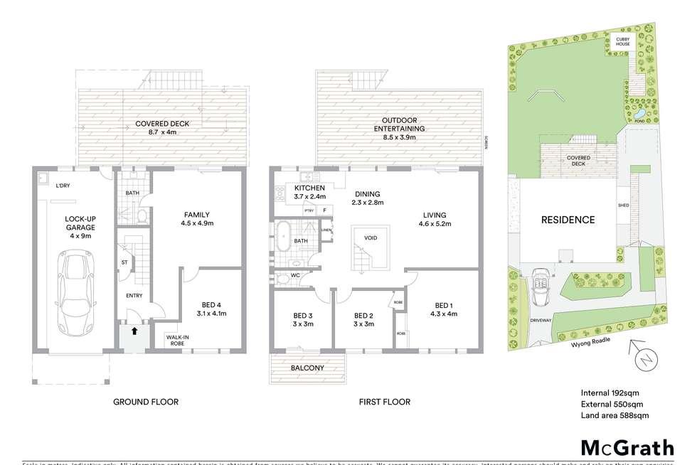 Floorplan of Homely house listing, 51 Wyong Road, Berkeley Vale NSW 2261