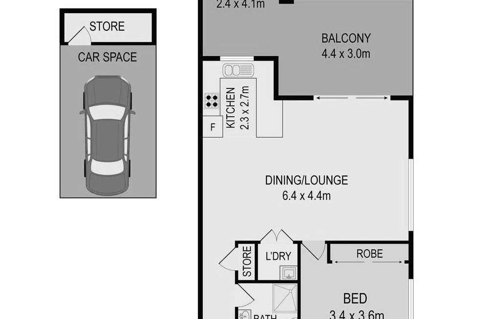 Floorplan of Homely apartment listing, 5/213 William Street, Granville NSW 2142