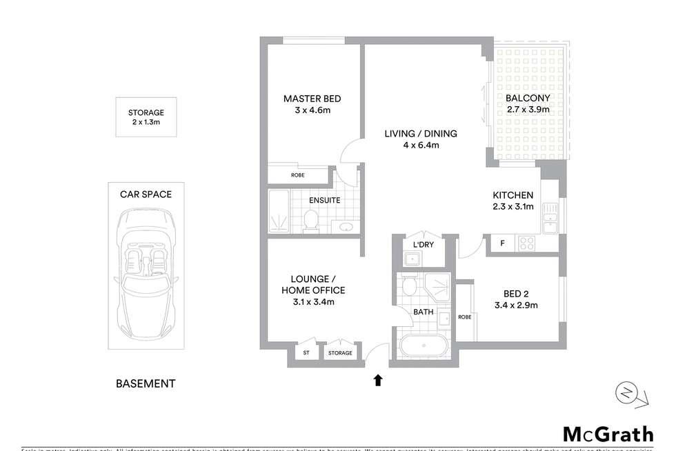 Floorplan of Homely unit listing, 107/27 Rebecca Street, Schofields NSW 2762