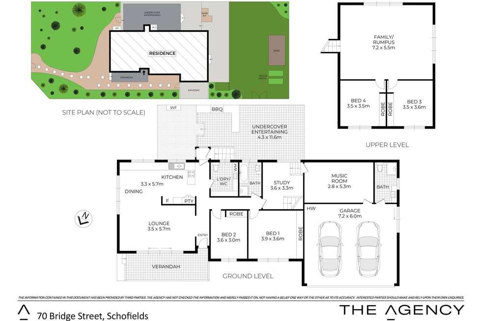 Floorplan of Homely house listing, 70 Bridge Street, Schofields NSW 2762