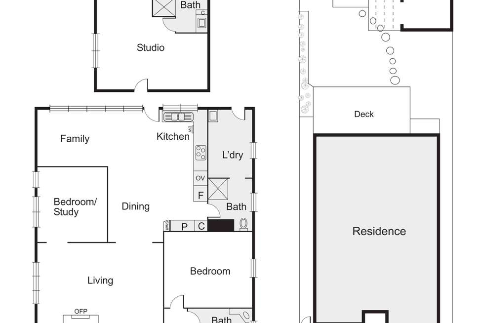 Floorplan of Homely house listing, 299 Barkly Street, St Kilda VIC 3182