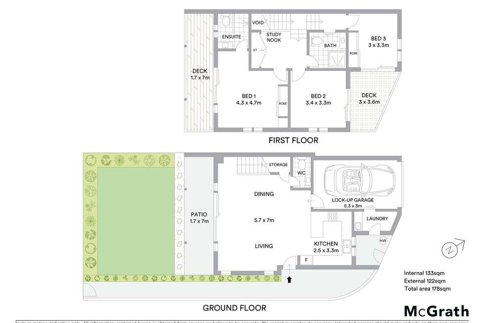 Floorplan of Homely unit listing, 2/56 Alexandra Street, North Ward QLD 4810